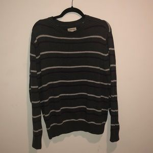 Grey Stripped Sweater